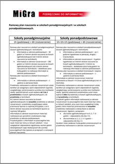 Zmiany w ramowym planie nauczania